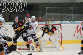 Z utkání Chomutova s Litvínovem