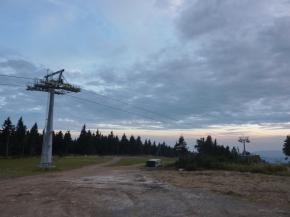 Sedačková lanovka na Klínovci