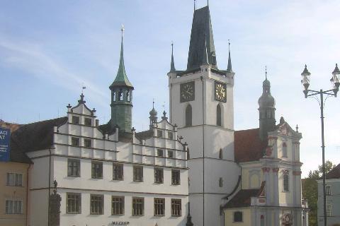 Litoměřice, náměstí. Foto: archiv Wikipedia.org