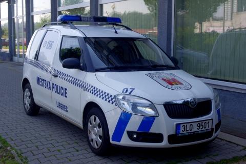Služební vozidlo liberecké městské policie Foto: MP Liberec