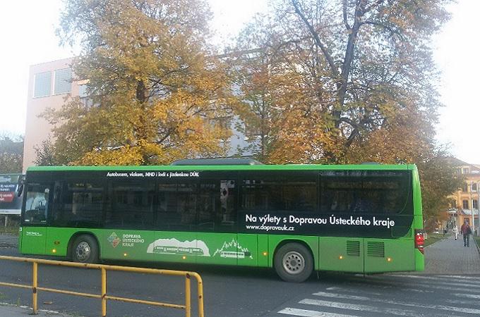 Autobus v Teplicích, ilustrační foto. Foto: archiv SeveročeskýDeník.cz