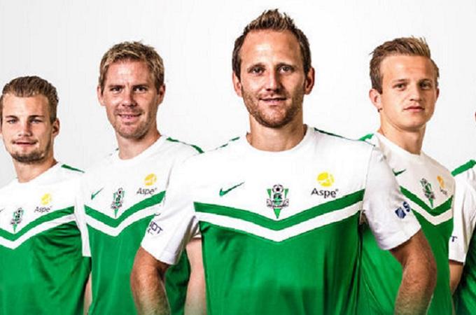 Tomáš Jun (uprostřed). Foto: archiv FK Jablonec