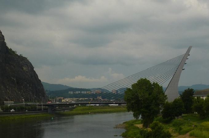 Mariánský most v Ústí nad Labem. Foto: archiv SeveročeskýDeník.cz