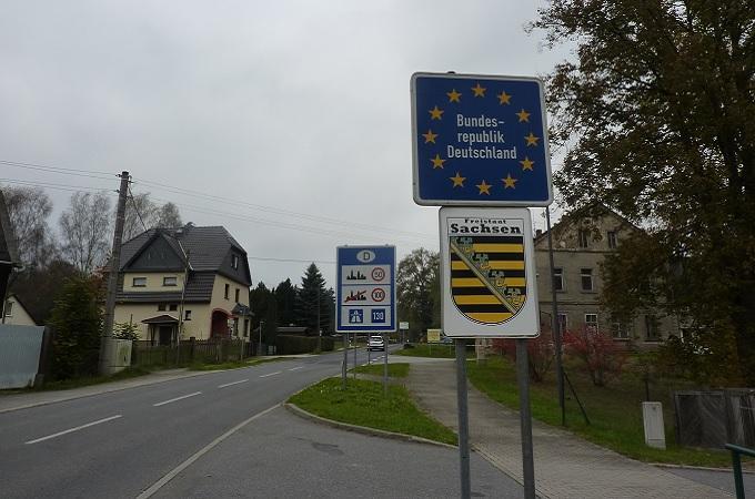 Státní hranice, ilustrační foto. Foto: archiv SeveročeskýDeník.cz