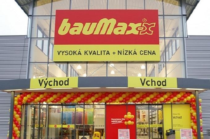 Prodejna bauMax. Foto: archiv bauMax