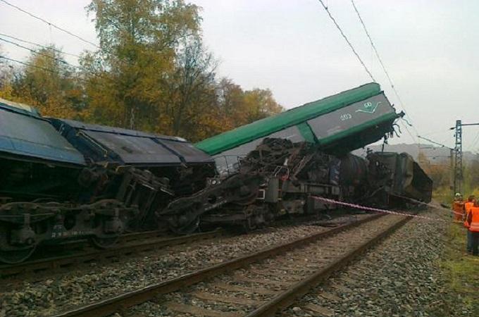 Nehoda Úpořiny, Foto: Archiv Drážní inspekce