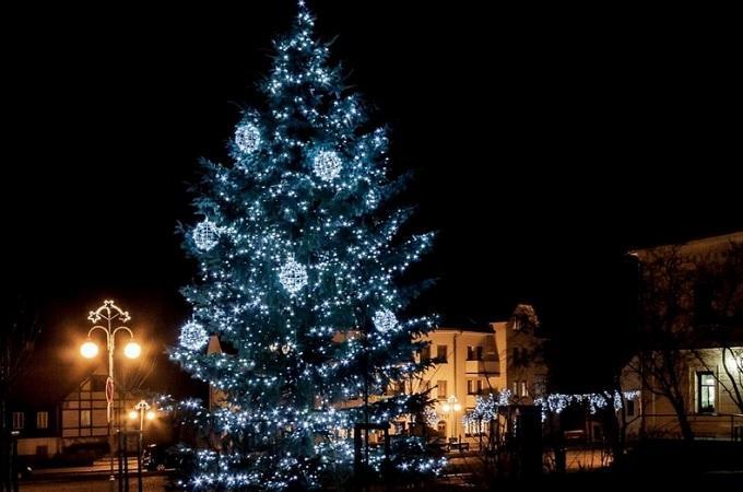 Vánoční strom. Foto: archiv Kamenický Šenov
