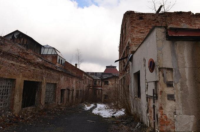 Bývalá továrna na lustry Elias Palme. Foto: archiv Liberecký kraj