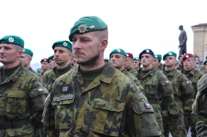 Vojáci Armády ČR. Foto: Ministerstvo obrany/Jana Deckerová