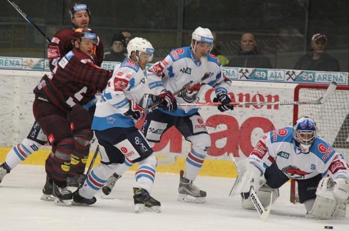 Hokejisté Chomutova. Foto: Ladislav Chlíbek