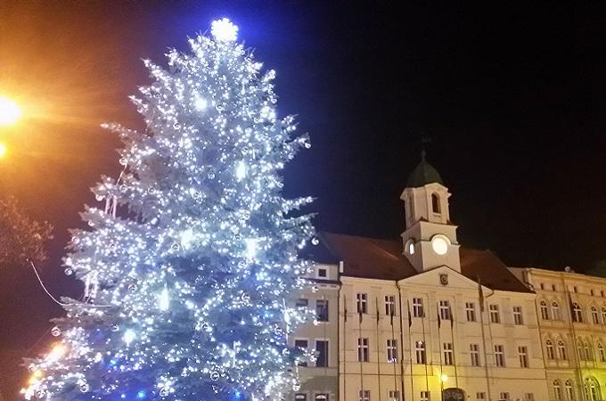 Vánoční strom. Foto: archiv MojeTeplicko.cz