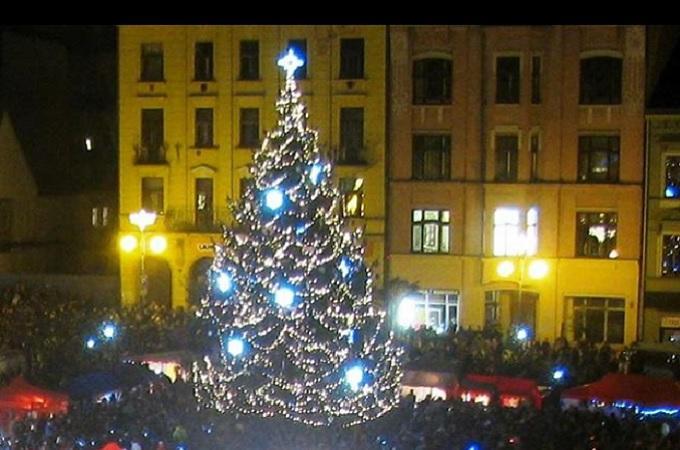 Vánoční strom. Foto: archiv Facebook/Děčín Okolí Okolí