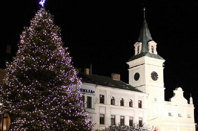 Vánoční kamion. Foto: Facebook/Město Turnov