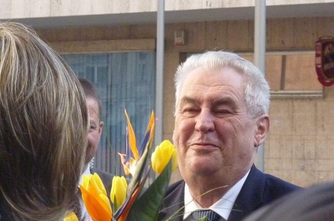 Prezident Miloš Zeman. Foto: archiv SeveročeskýDeník.cz