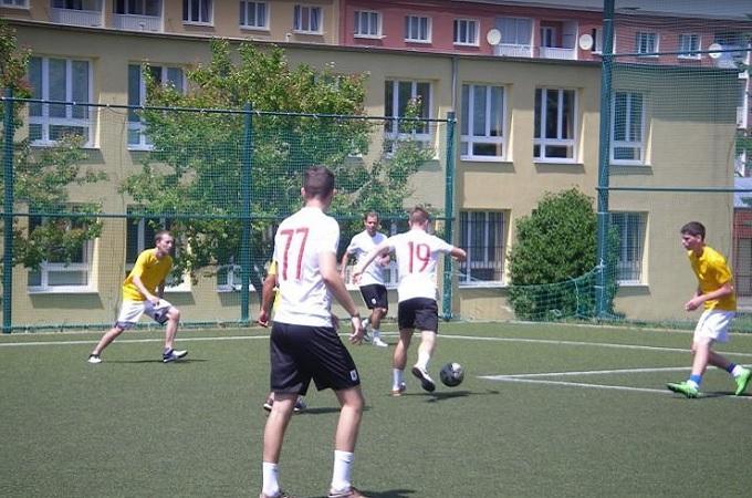 Fotbaliisté malé kopané. Foto: archiv Aleš Janeček