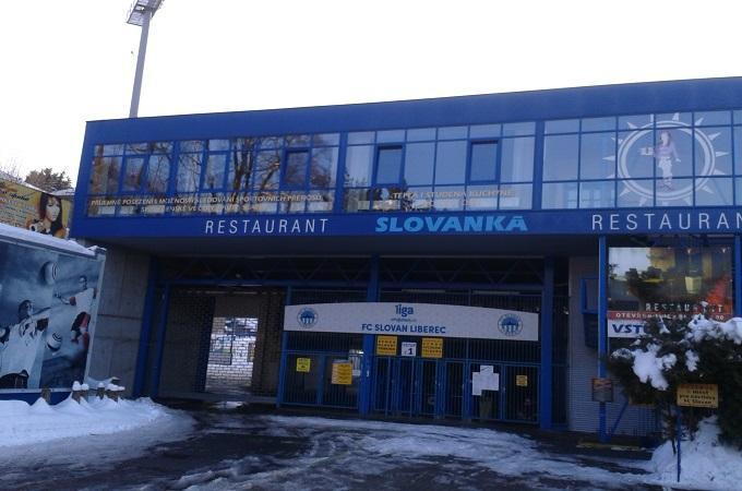 Stadion Slovanu Liberec zvenčí. Foto: archiv MojeLiberecko.cz