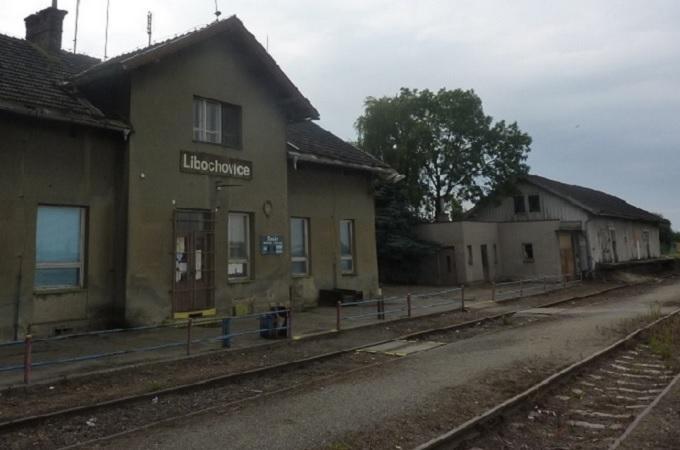 Nádraží v Libochovicích. Foto: archiv MojeLitoměřicko.cz