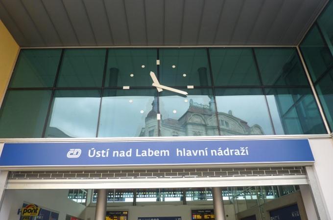 Nádraží v Ústí nad Labem. Foto: archiv SeveročeskýDeník.cz