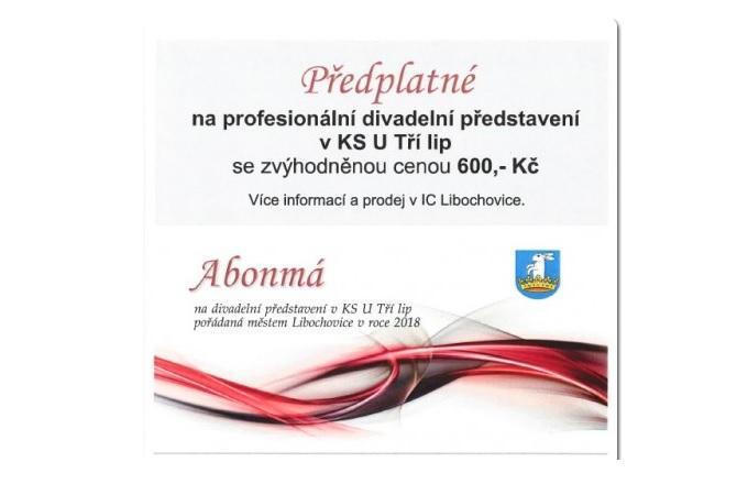 Plakát, ilustrační foto. Zdroj: Město Libochovice