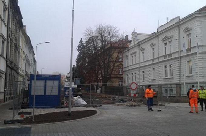 Rekonstrukce Palachovy ulice. Foto: archiv MojeLitoměřicko.cz