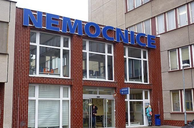 Roudnická nemocnice. Foto: archiv MojePodřipsko.cz