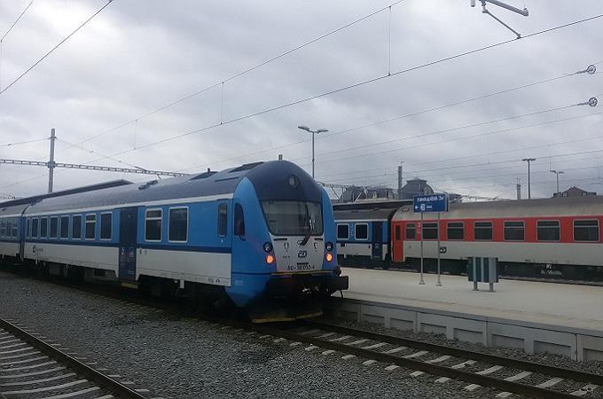 Vlak, ilustrační snímek. Foto: archiv SeveročeskýDeník.cz