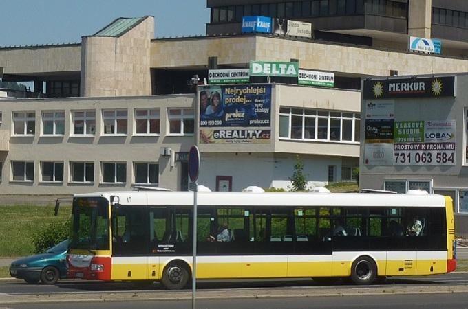 Autobus v Mostě. Foto: archiv MojeMostecko.cz
