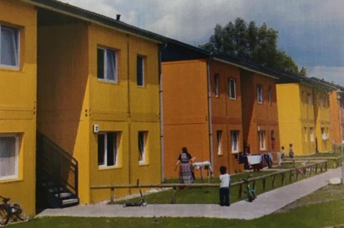 Kontejnerové domy, ilustrační foto. Zdroj: Město Most