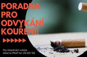 Chcete přestat kouřit? Využijte poradnu
