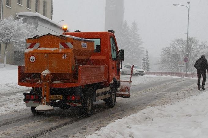 Sníh v Jablonci. Foto: archiv Město Jablonec nad Nisou