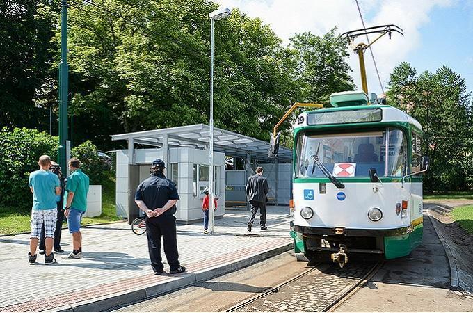 Tramvaj. Foto: archiv Město Liberec