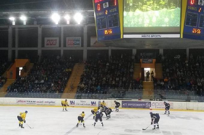 Hokej v Ústí nad Labem. Foto: archiv SeveročeskýDeník.cz