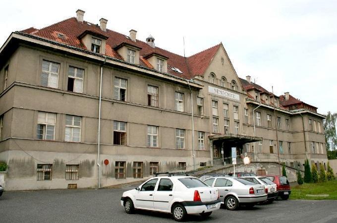 Lužická nemocnice v Rumburku. Foto: archiv Město Rumburk