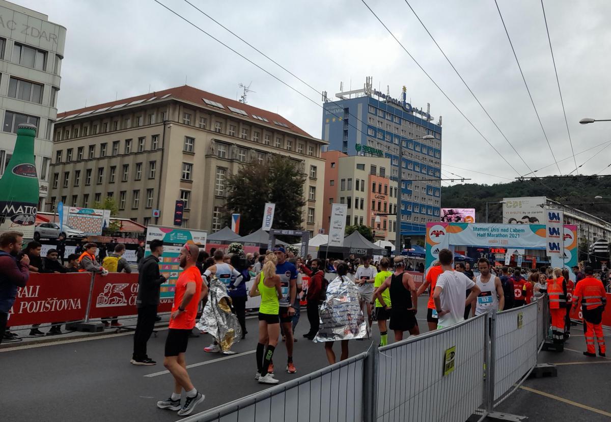 Z Ústeckého půlmaratonu. Foto SeveroceskyDenik