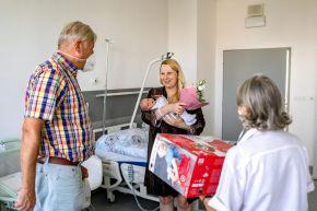 V roudnické porodnici oslavili 500. narozené miminko